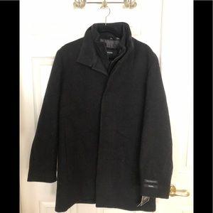 NWT Mens Alfani Winter Jacket Cashmere Wool Size S